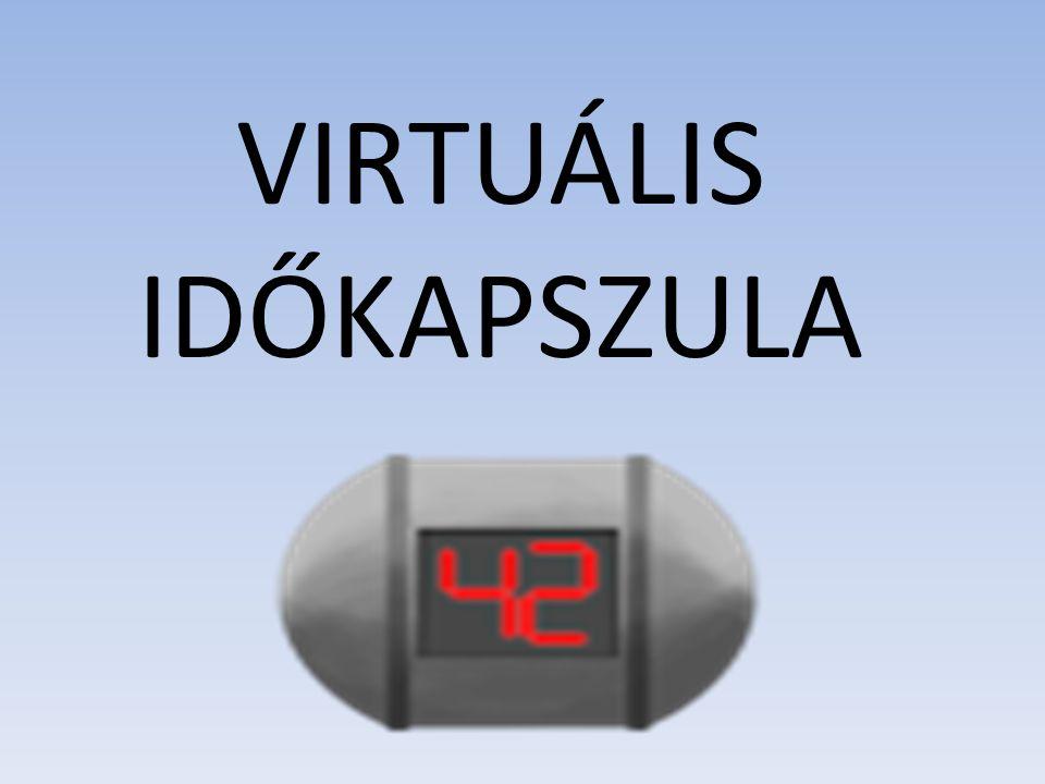 Mobilalkalmazás, amely lehetővé teszi a regisztrált felhasználóknak, hogy különböző információkat (szövegek, képek, hang- és video anyagok, tetszőleges állományok) dobozoljanak be virtuális időkapszulákba .
