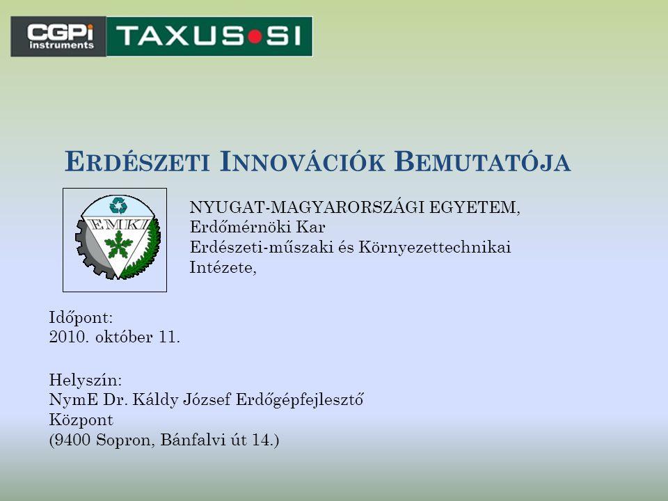 N ÉHÁNY ÉRTÉKELŐ GONDOLAT Magyarországnyi erdőterületen egyetlen főigazgatóság alatt 17 igazgatósába szervezve 431 erdészet működik, az informatikai fejlesztésük egységesen, többé kevésbé egy időben történik.