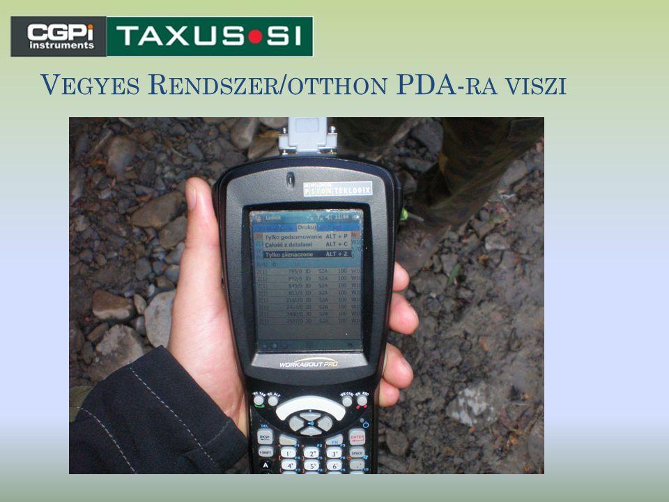 V EGYES R ENDSZER / OTTHON PDA- RA VISZI