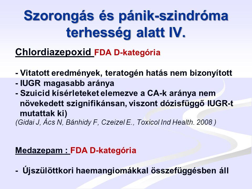 Magasvérnyomás / toxaemia terhesség alatt I.