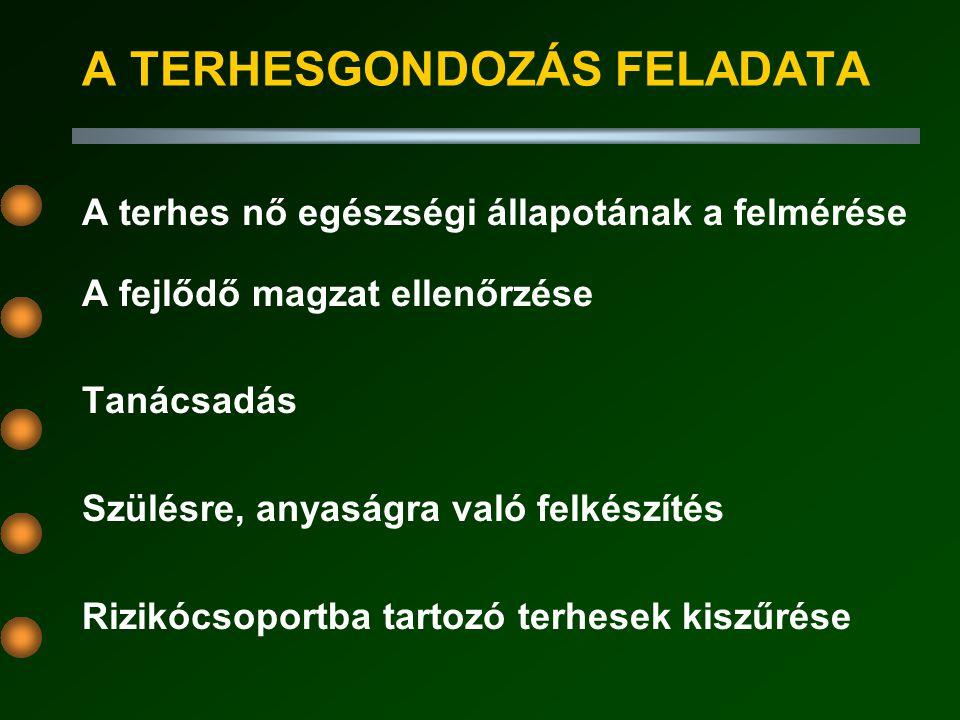 A 19 - 20.TERHESSÉGI HÉTEN ELVÉGZENDŐ TEENDŐK 1. BIMANUÁLIS VIZSGÁLAT 2.