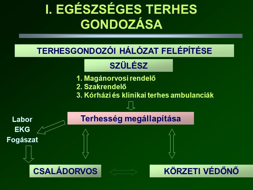 •methyldopa (Dopegyt) •nifedipin (Nifedipin-R) •dihydralazin (Depressan) béta-blokkolók (kardioszelektív) Verapamil Diltiazem •ACE gátló •angiotensin II receptor blokkoló •Diureticum(?) (2005-s ajánlás szerint óvatosan adható) ADHATÓNEM ADHATÓ ANTIHYPERTENSIV TERÁPIA
