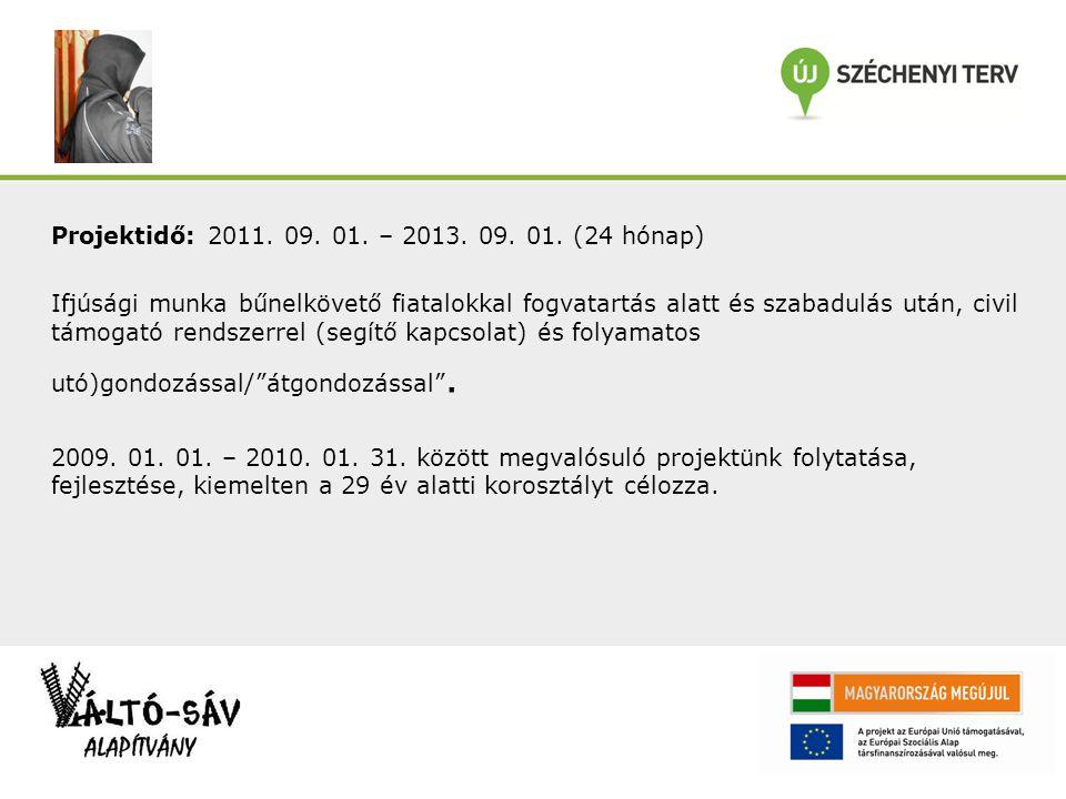 Projektidő: 2011. 09. 01. – 2013. 09. 01.