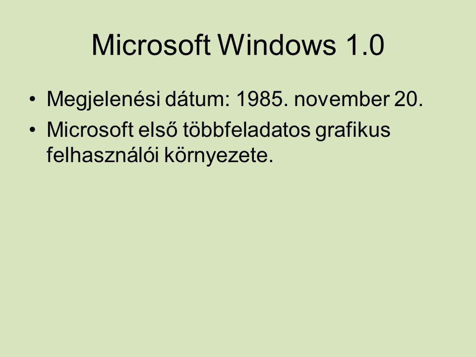 Következő operációs rendszer fejlődése