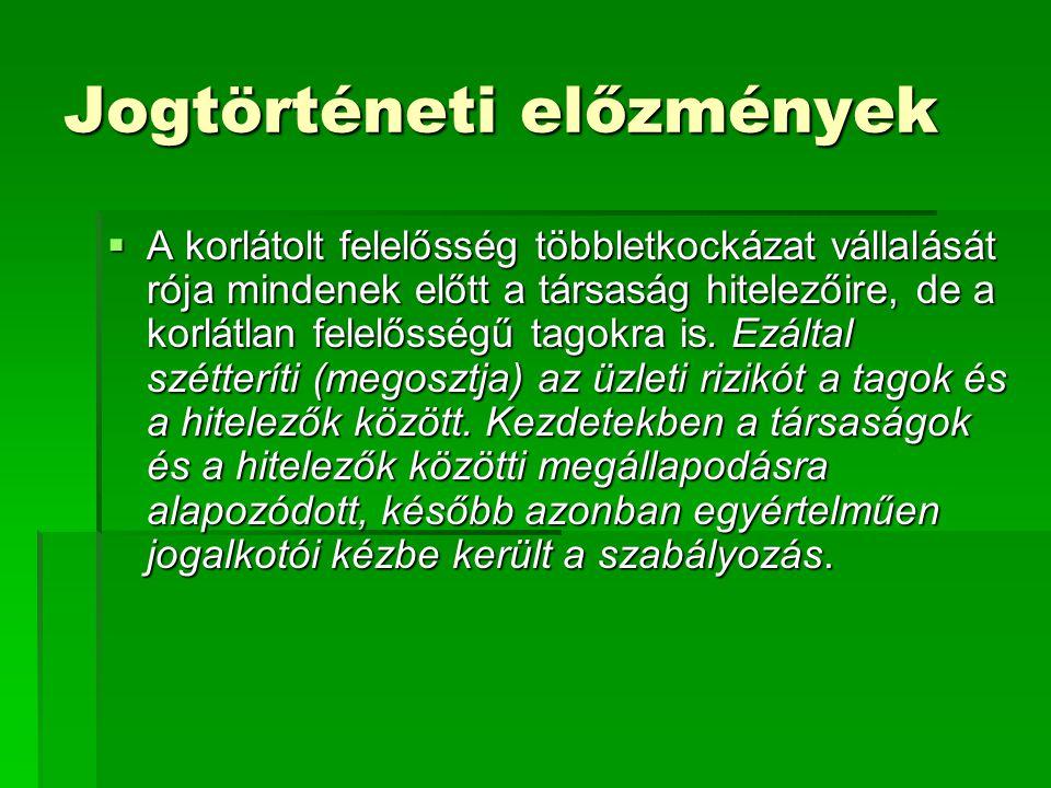 Jogszabály változások Jogszabály változások  A 2006.