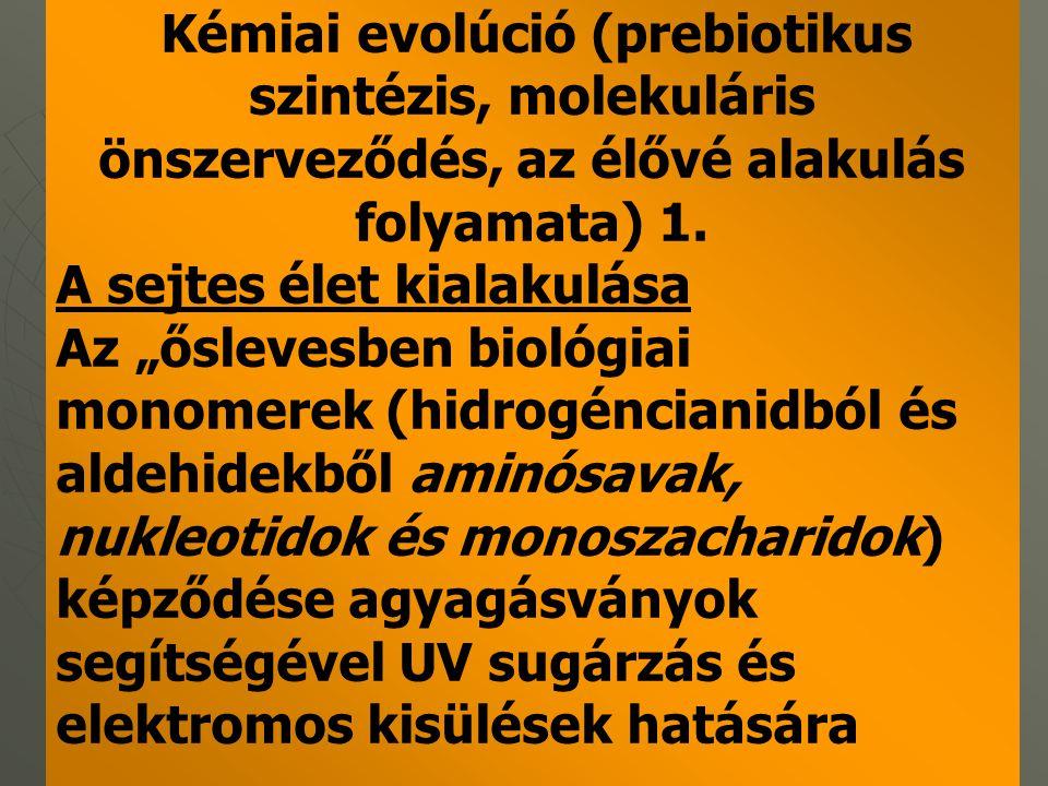 FÖLDTÖRTÉNET 2.b IDŐIDŐ-SZAKKO R Millió évFEL-SZÍN- FEJL.