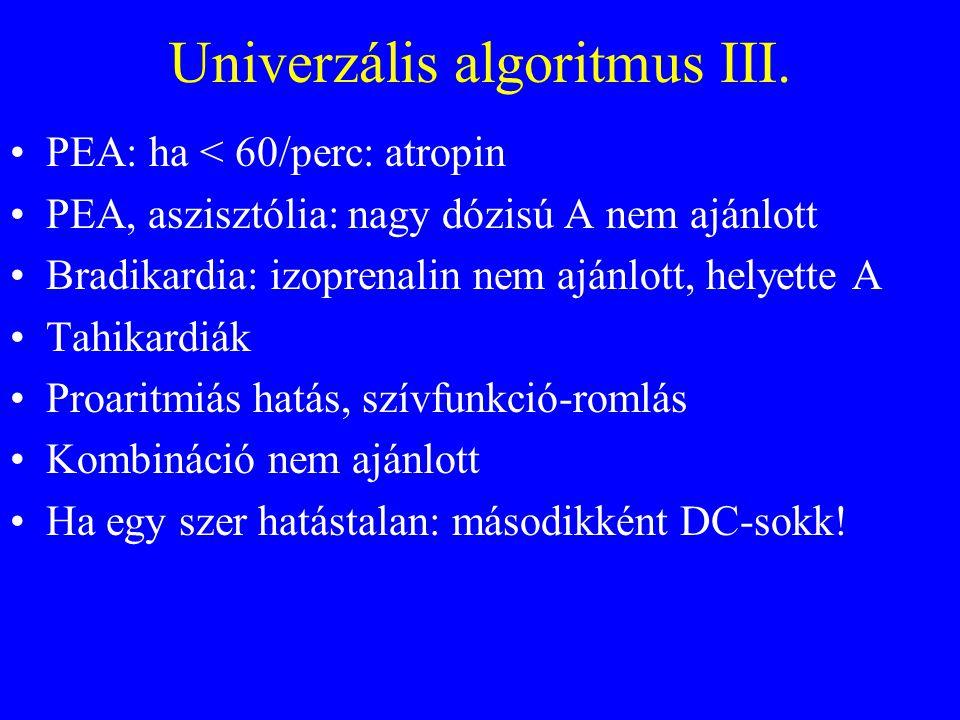 Univerzális algoritmus III.
