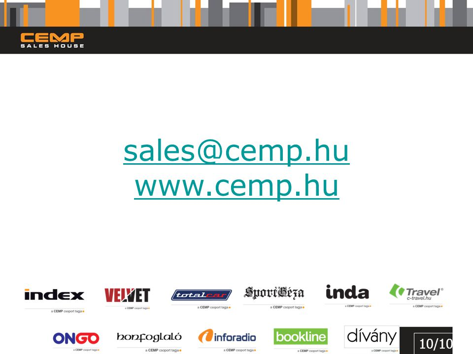sales@cemp.hu www.cemp.hu 10/10