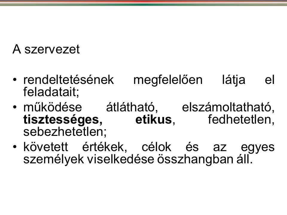 Önkormányzati integritás jogi szabályozása •1997.évi XV.
