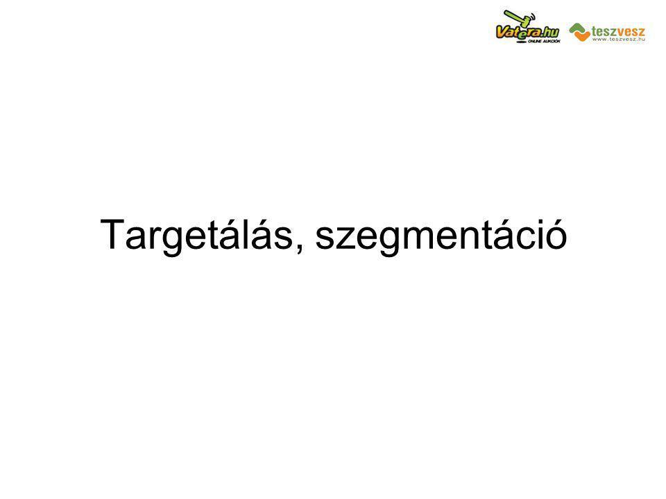 Targetálás, szegmentáció