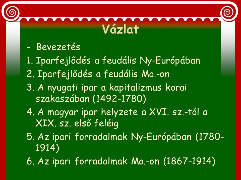 Magyarország iparosodása Készítette: Ecsery Ádám Alias: Cserkó Ádi