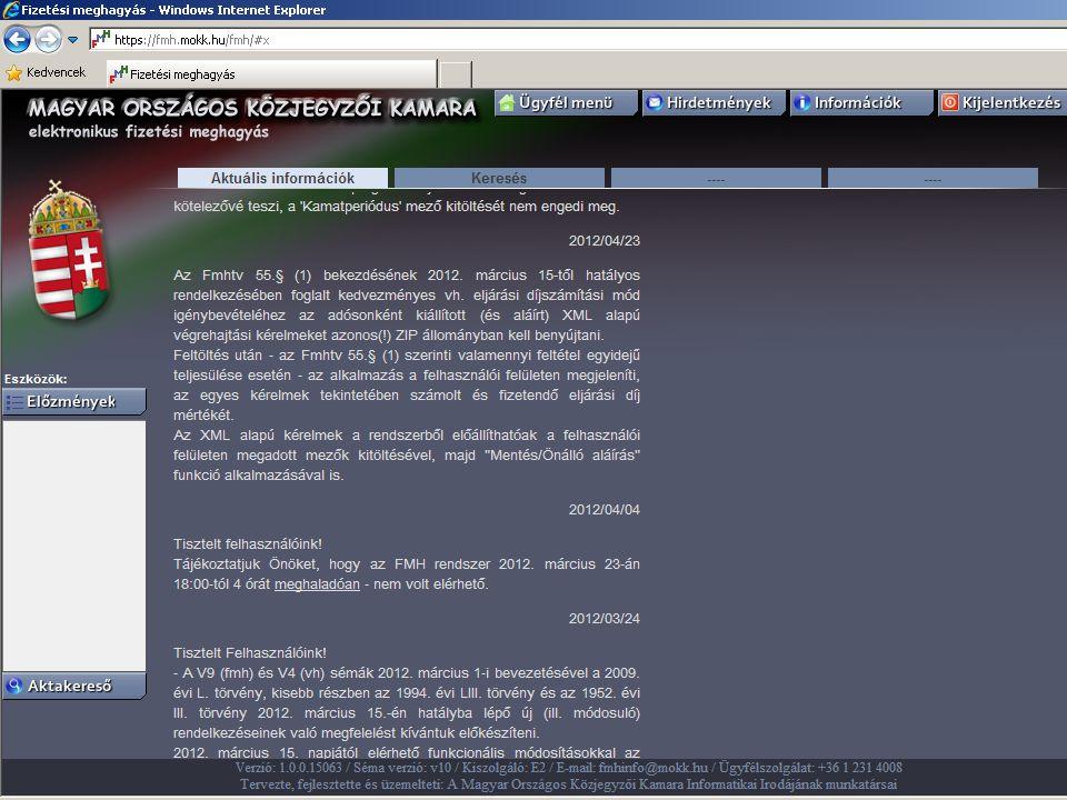 Útmutató az eljáráshoz 2014. 06. 23.előadó neve 27