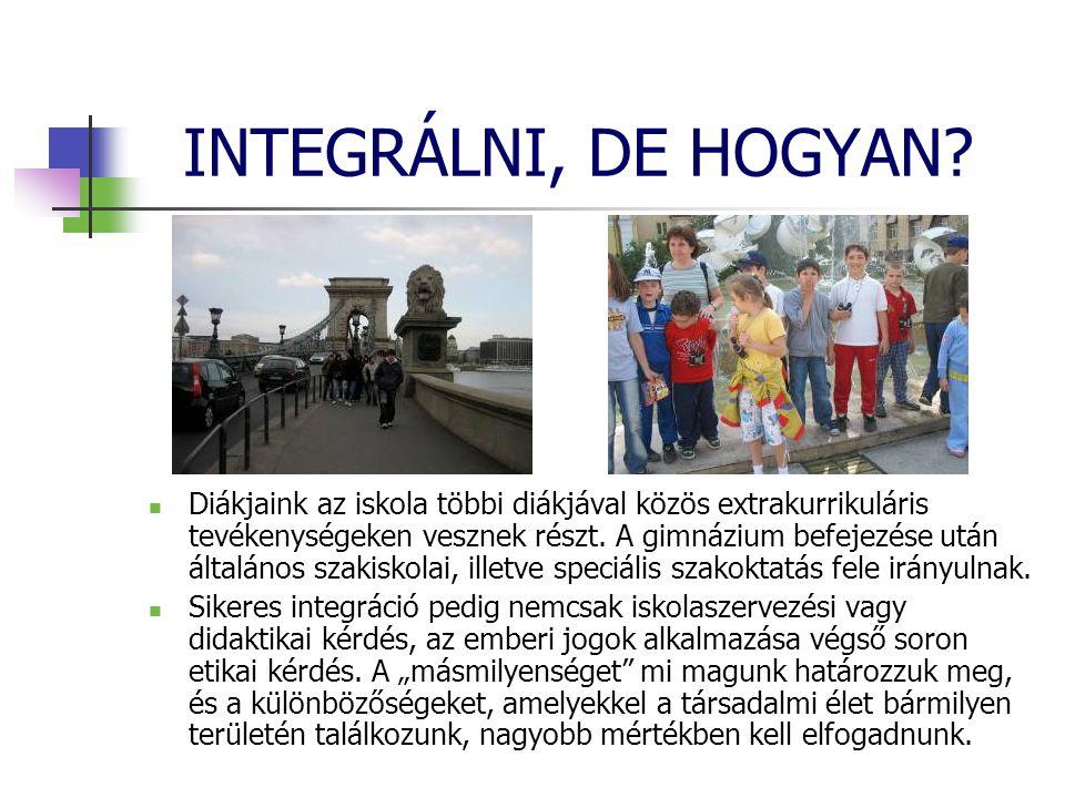 INTEGRÁLNI, DE HOGYAN.