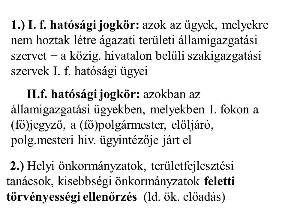 1.) I.f.