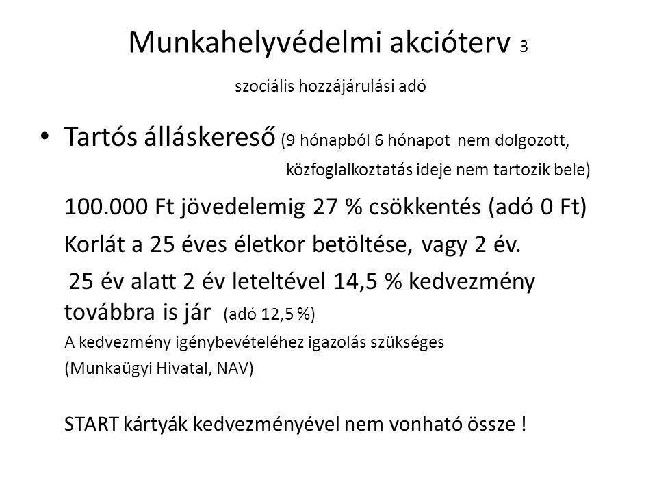 Kiva-alanyis á g felt é telei Ad ó alany lehet: • L é tsz á m: max.