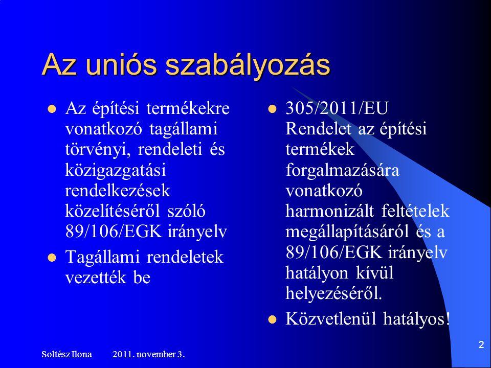 További feladatok Soltész Ilona 2011.november 3.