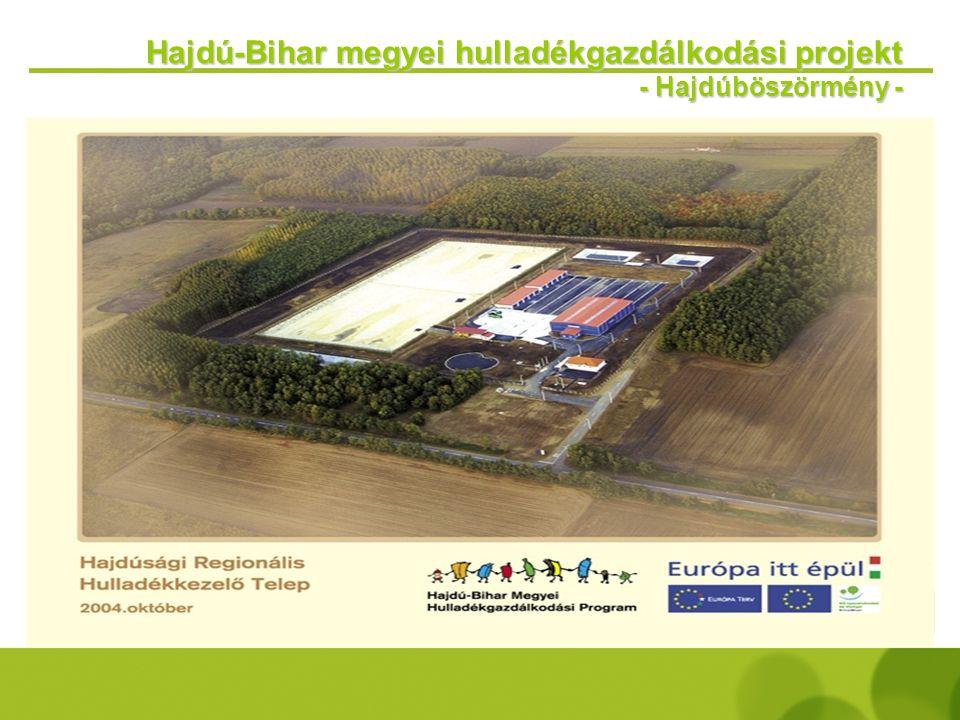 Hajdú-Bihar megyei hulladékgazdálkodási projekt - Debrecen -