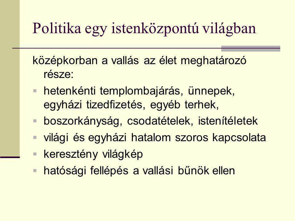 Egyházi és világi hatalom 6. technikai lebonyolítás:  röpiratok,  hamisított dokumentumok (pl.
