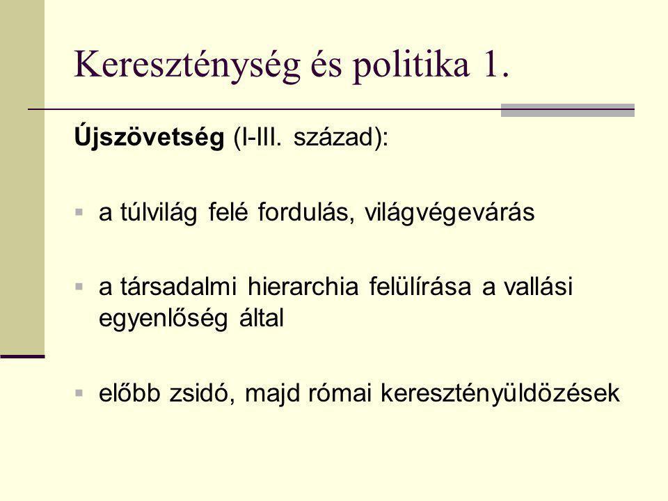 Kereszténység és politika 2.Keresztény Róma (IV-V.