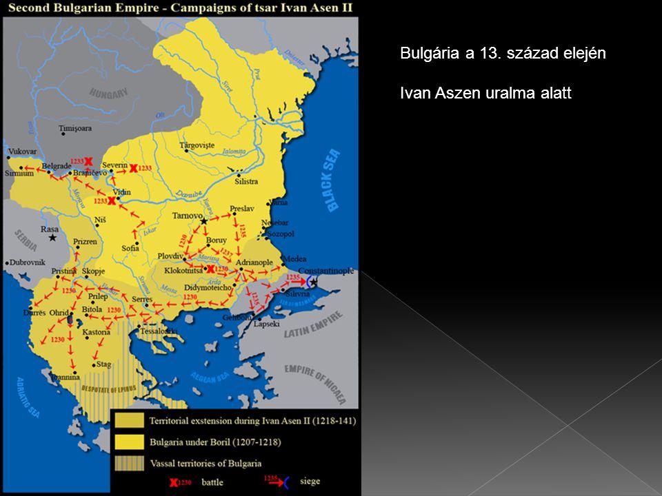 Bulgária a 13. század elején Ivan Aszen uralma alatt