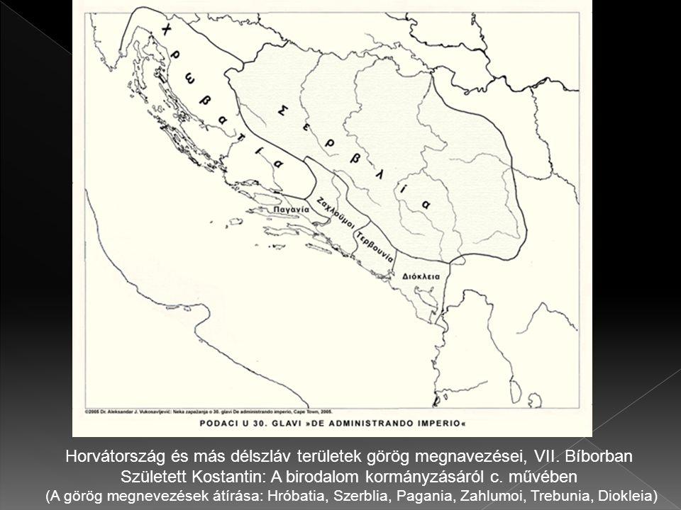  A horvát királyság előbb jött létre mint a magyar.