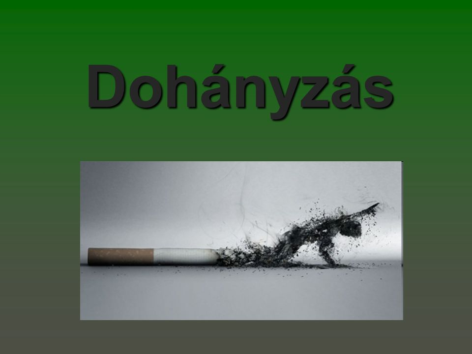 Akkor dohányzom, amikor én akarok  Nagy tévedés.