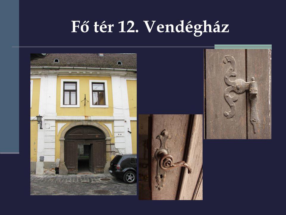 Fő tér 12. Vendégház