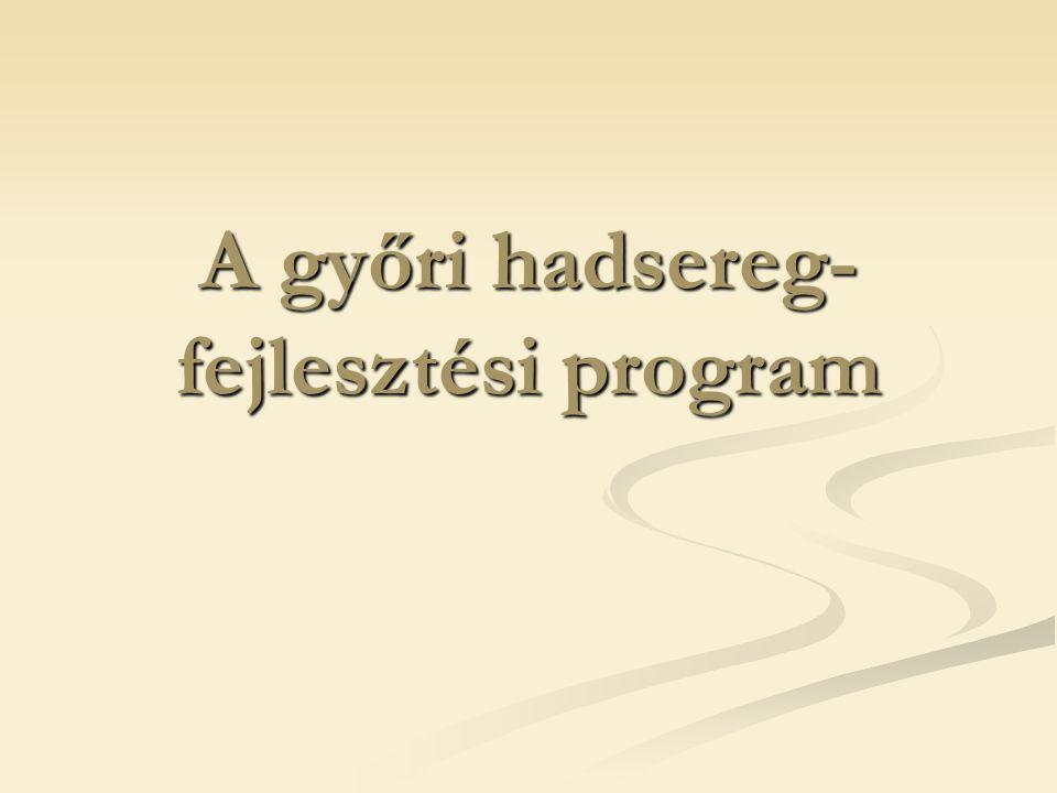 A győri hadsereg- fejlesztési program