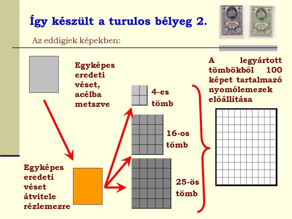 Így készült a turulos bélyeg 2.