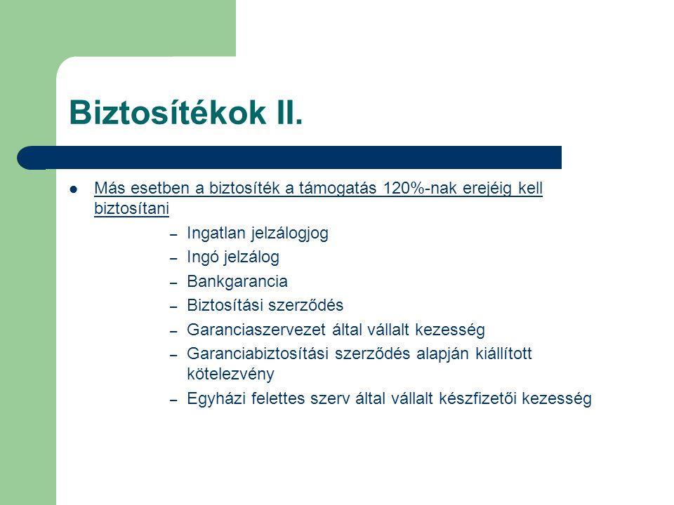 Biztosítékok II.