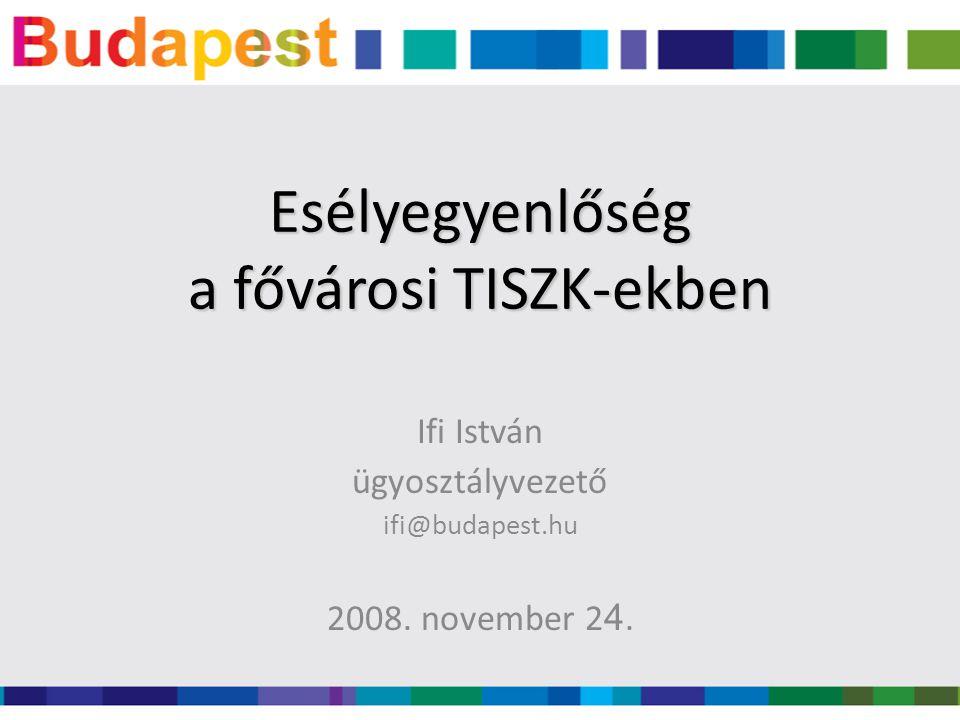Ifi István ügyosztályvezető ifi@budapest.hu 2008. november 2 4.