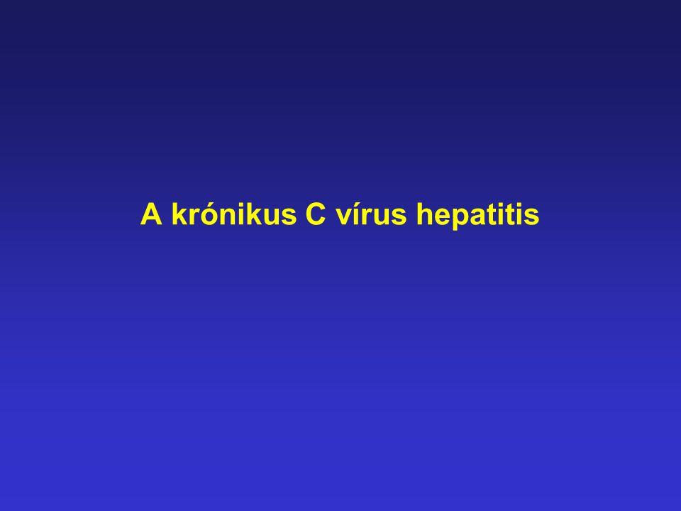 A krónikus C vírus hepatitis