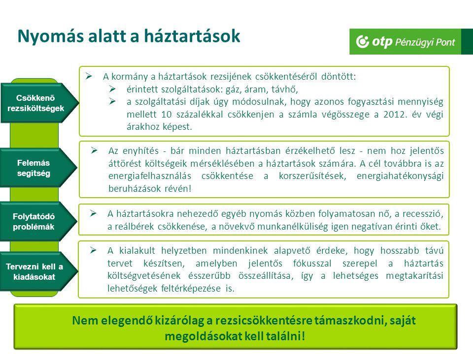 13 Esztétikus és energia-takarékos otthon 13 Ha hitelre van szükséges energetikai beruházáshoz….