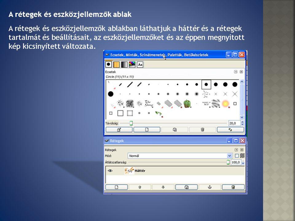 A GIMP munkaablakában kerülnek a képek megnyitásra.