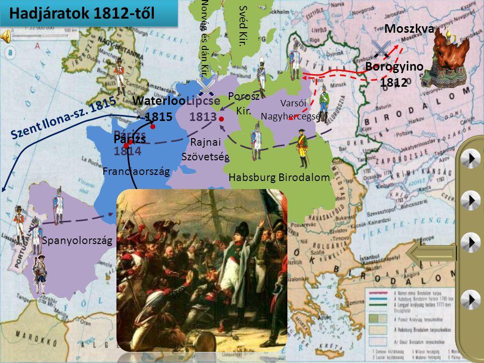 Franciaország Spanyolország 1811-ig elfoglalt területek Franciaországtól függő országok Szövetségre kényszerített államok Híres csaták Hadjáratok irán