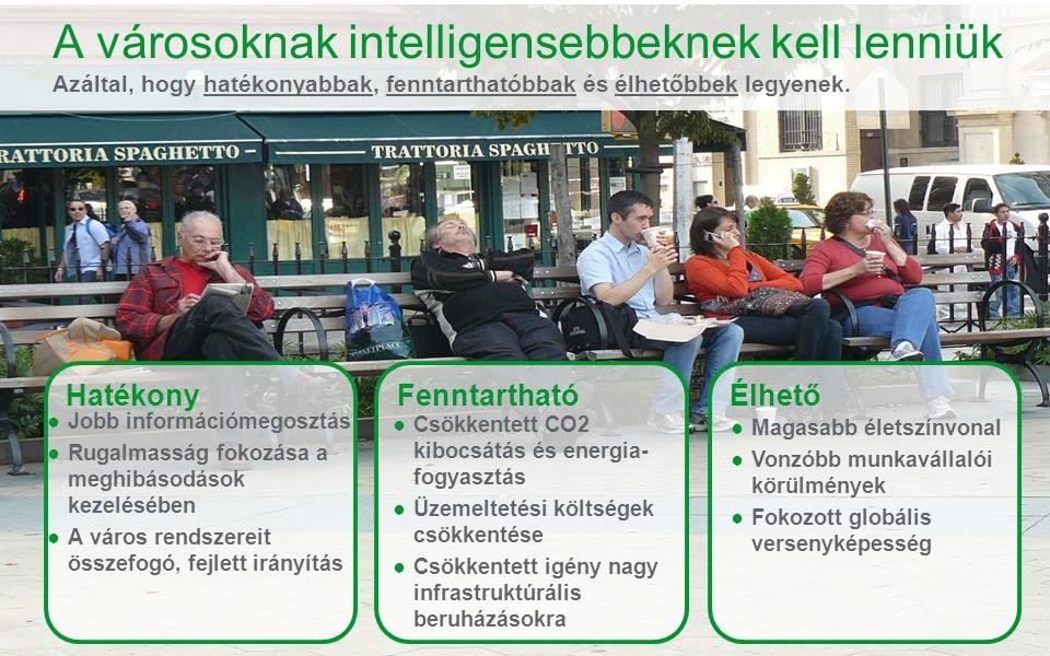 Schneider Electric 7 - Balasa Levente – Ipar Üzletágvezető A városoknak intelligensebbeknek kell lenniük Azáltal, hogy hatékonyabbak, fenntarthatóbbak