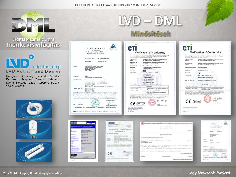 A DML technológia ötvözi a digitálisan vezérelt, környezetbarát energia felhasználást a mechanikai elemek nélküli (például: wolfram szál) világítási technológiát, valamint a zárt mágneses maggal működő rendszert.