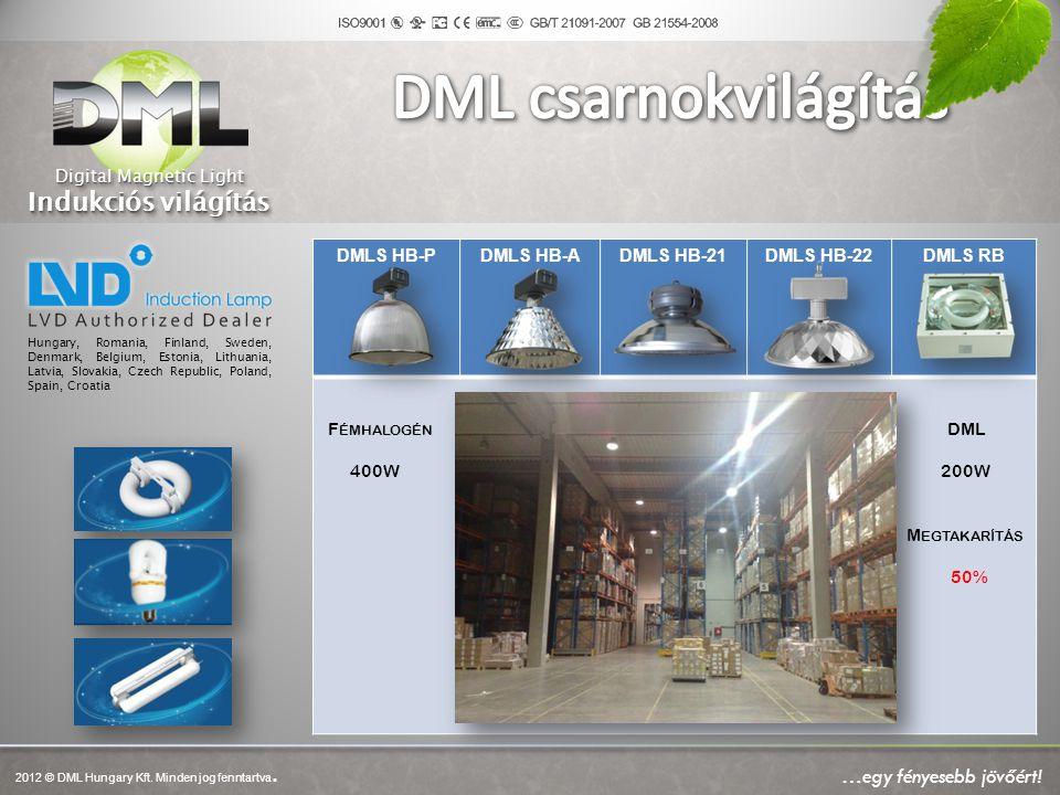 DMLS HB-PDMLS HB-ADMLS HB-21DMLS HB-22DMLS RB F ÉMHALOGÉN DML 400W 200W M EGTAKARÍTÁS 50% Hungary, Romania, Finland, Sweden, Denmark, Belgium, Estonia