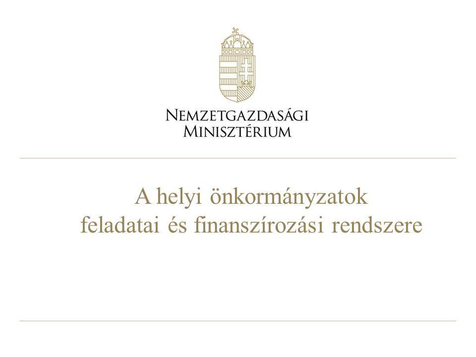 12 A helyi önkormányzatok feladatstruktúrája az Mötv.