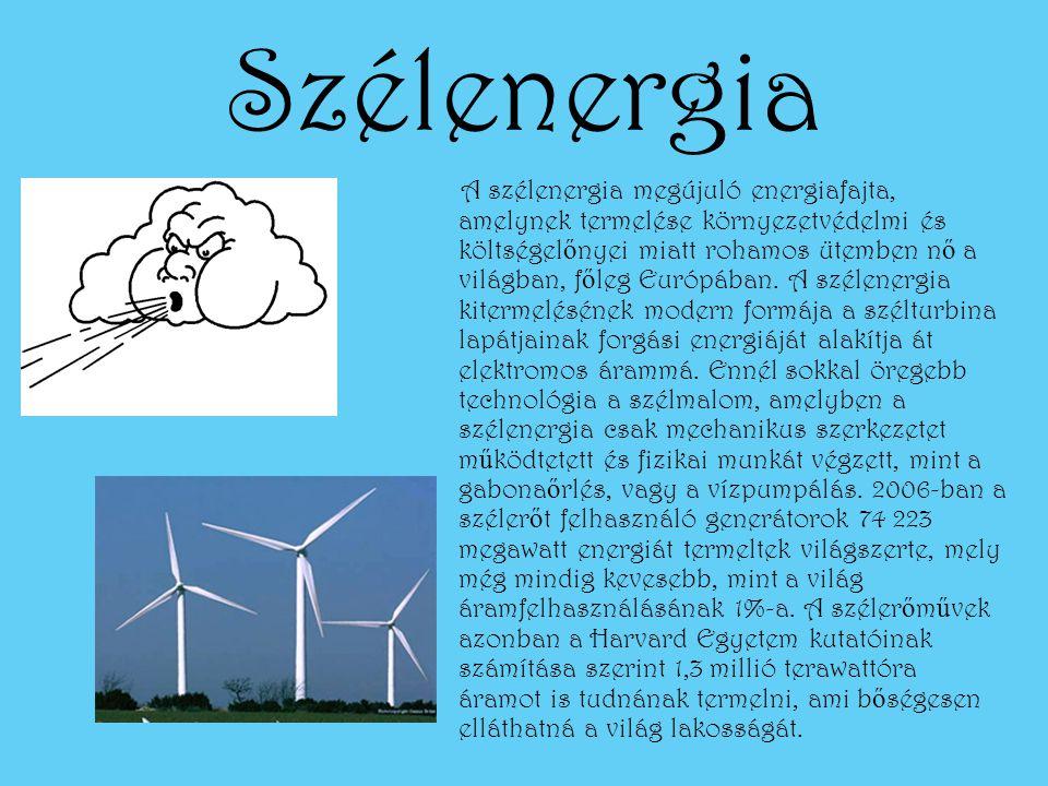 Geometrikus energia A geotermikus energia a Föld bels ő h ő jéb ő l származó energia.