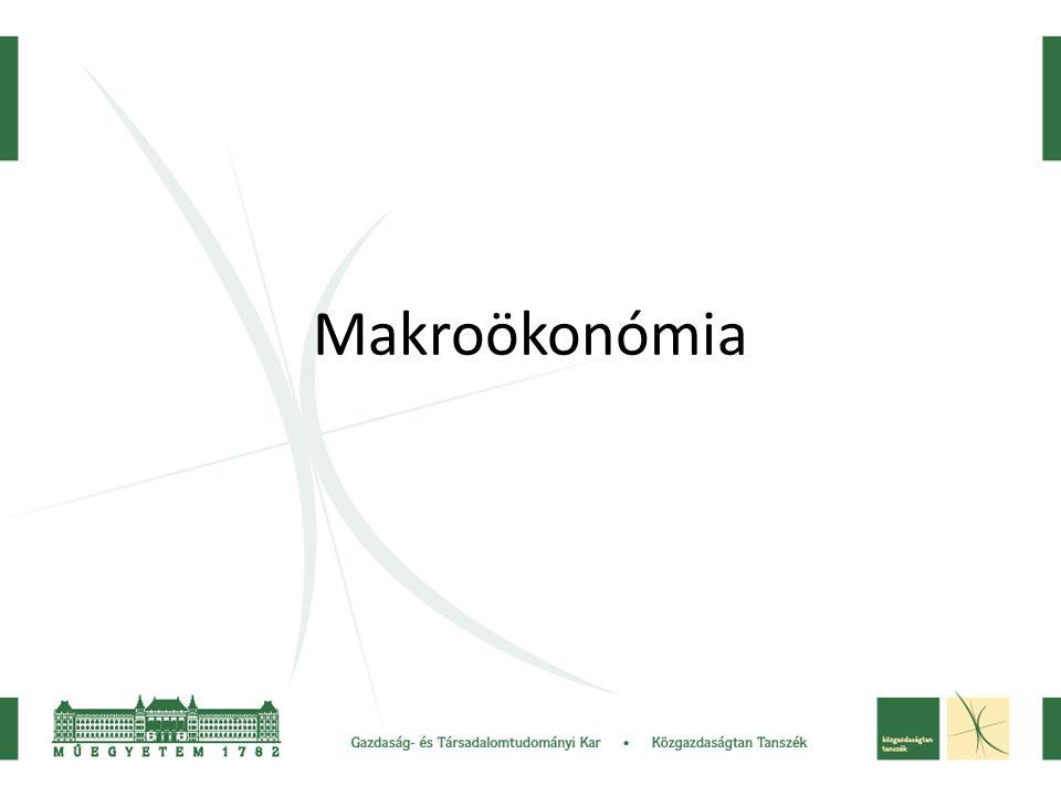 2 Makroökonómiai alapfogalmak.A makrogazdasági célok és összefüggések.