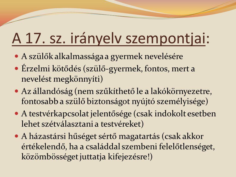 A 17.sz.