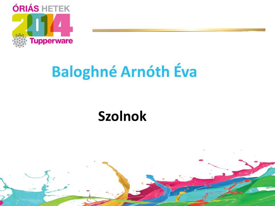 Szolnok Baloghné Arnóth Éva