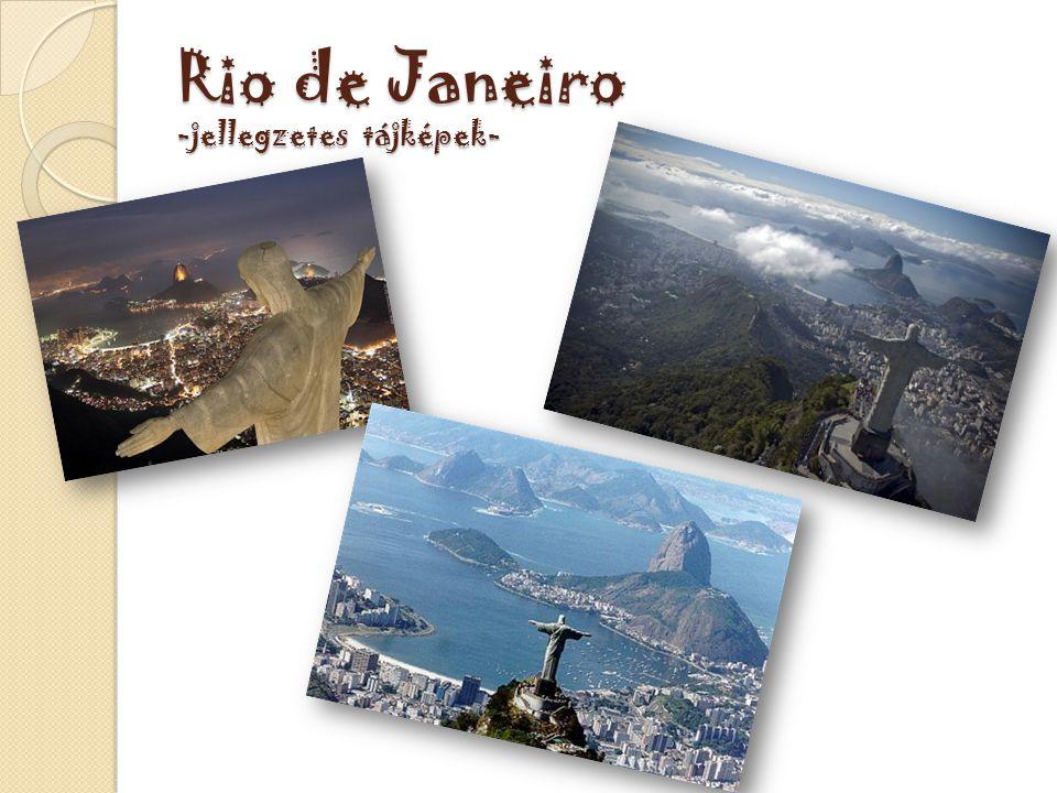Rio de Janeiro -jellegzetes tájképek-