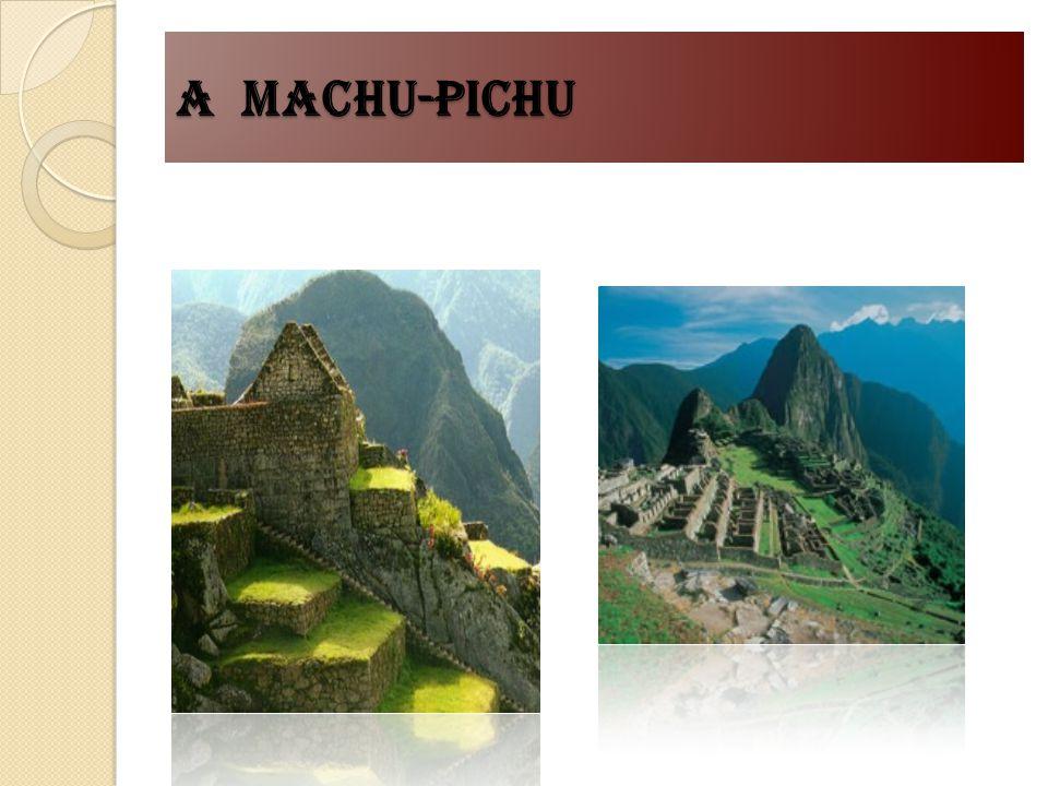 A machu-pichu