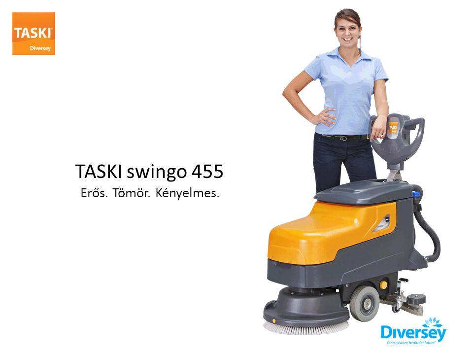 TASKI swingo 455 Erős. Tömör. Kényelmes.