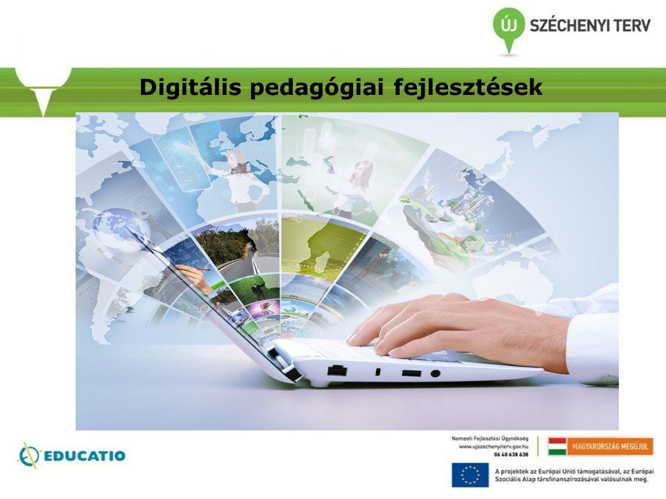 Digitális pedagógiai fejlesztések