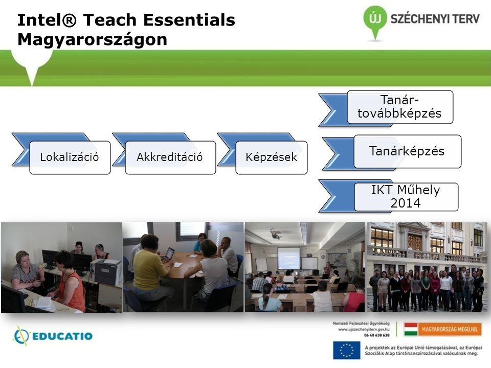 Intel® Teach Essentials Magyarországon