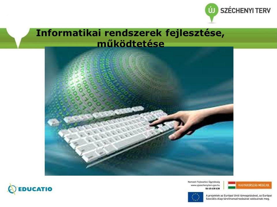 Informatikai rendszerek fejlesztése, működtetése