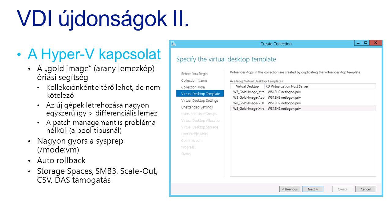 VDI újdonságok II.